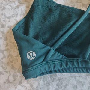 lululemon athletica Tops - EUC Lululemon Free To Be Zen Bra  Deep Green